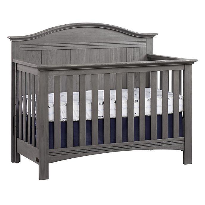 Soho Baby Chandler 4-in-1 Convertible Crib in Grey