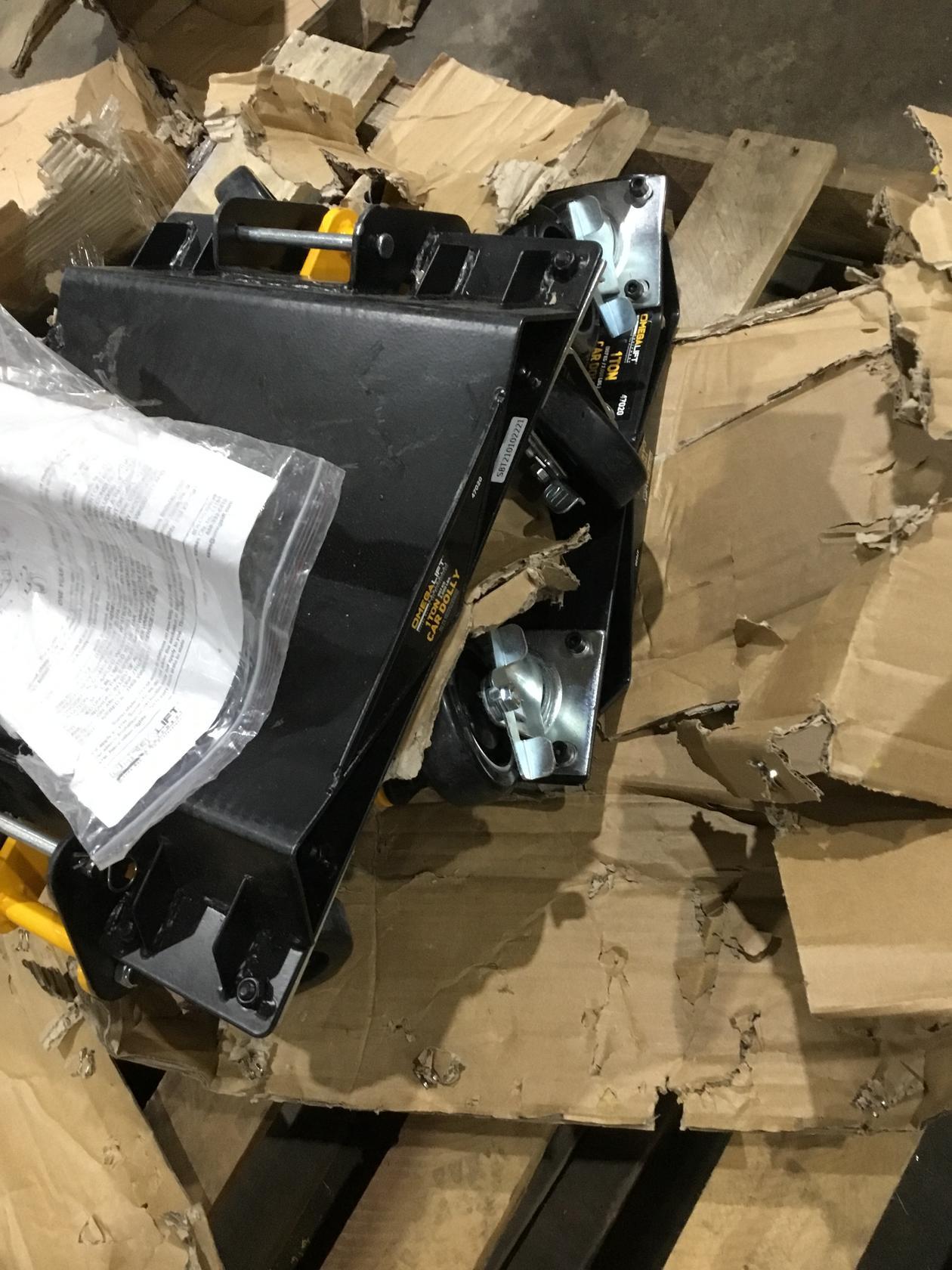 Heavy-Duty 2000 lbs. 3-in-1 Car Dolly Set Pair