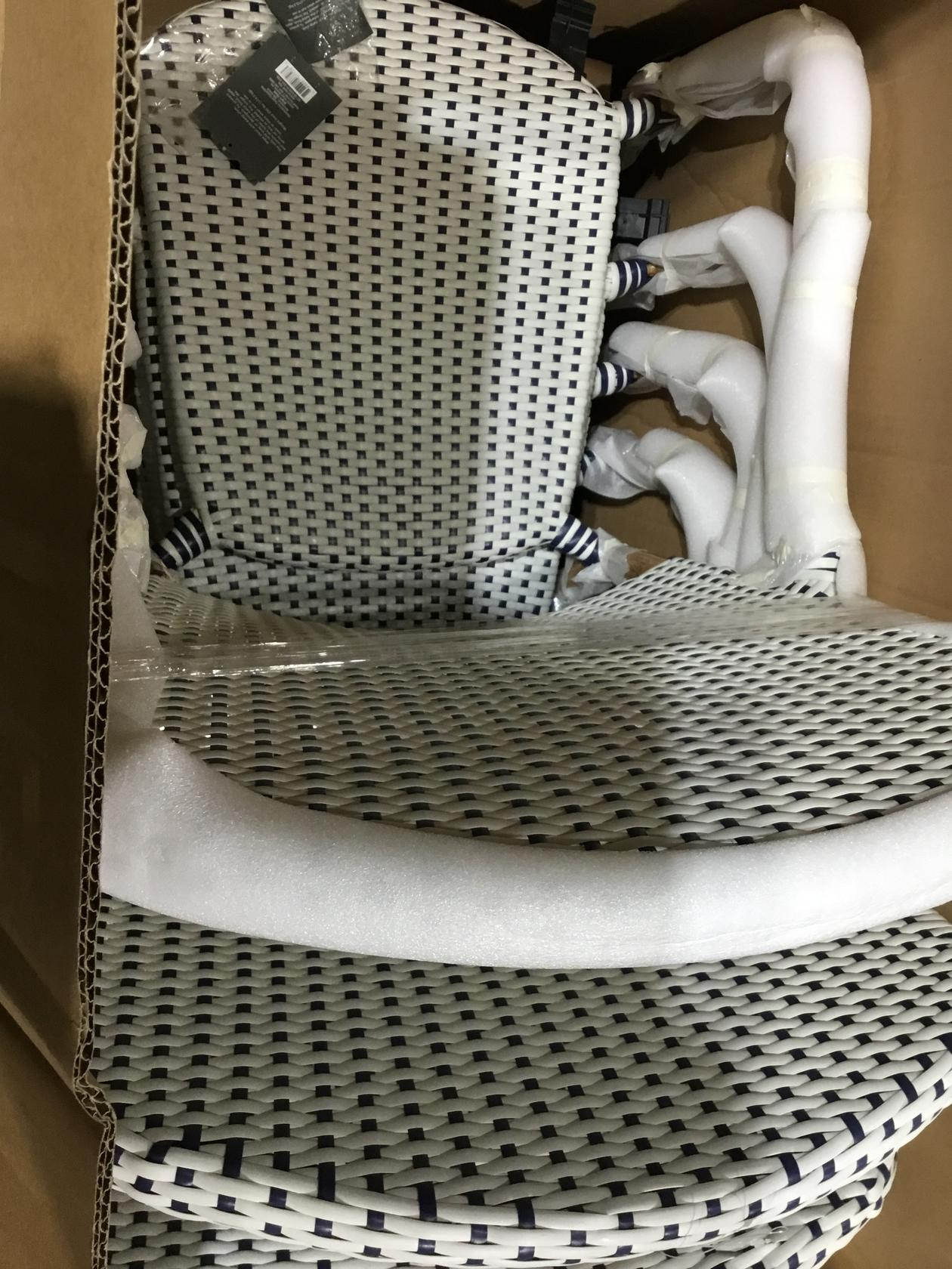 LOT OF 4 French Bistro Stacking Patio Accent Chair - Threshold™