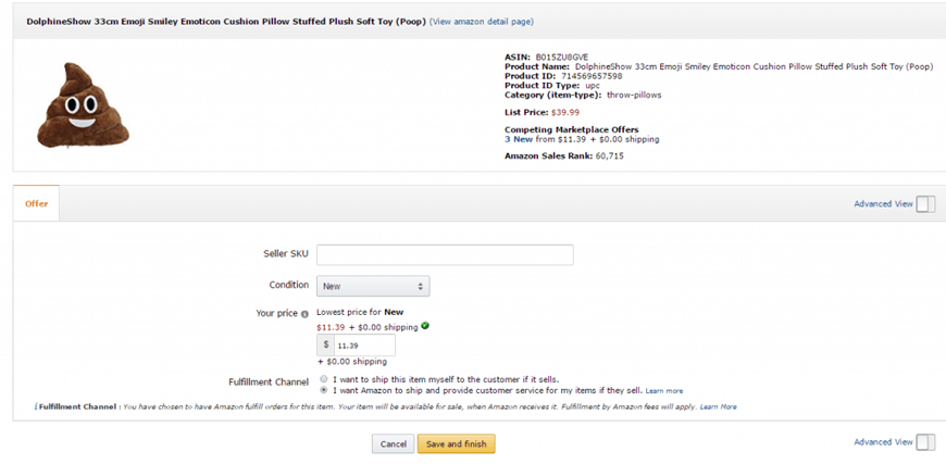 make first delivery amazon fba image1