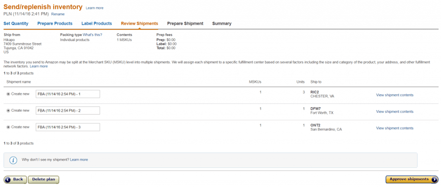 make first delivery amazon fba image3