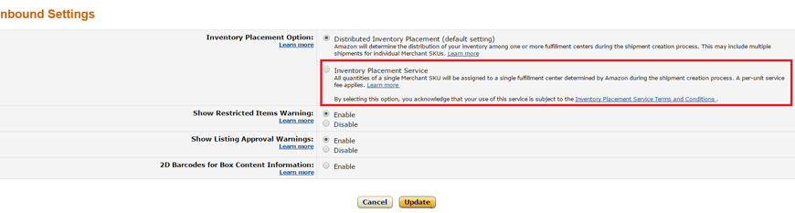 make first delivery amazon fba image6
