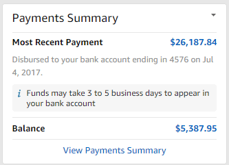 Payments Summary
