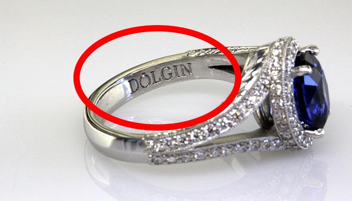 Example of Jeweler's Trademark