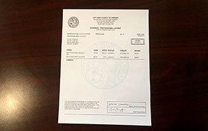 License index