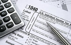 Taxes 1040 index