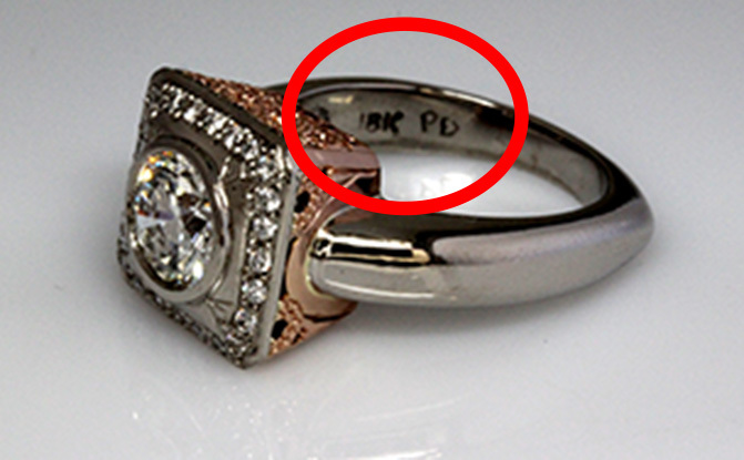 Gold jewelry stamps markings and inscriptions sellmy for What does hallmarked mean on jewelry