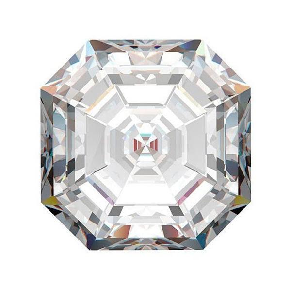Asscher diamond top