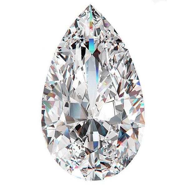 Pear diamond top