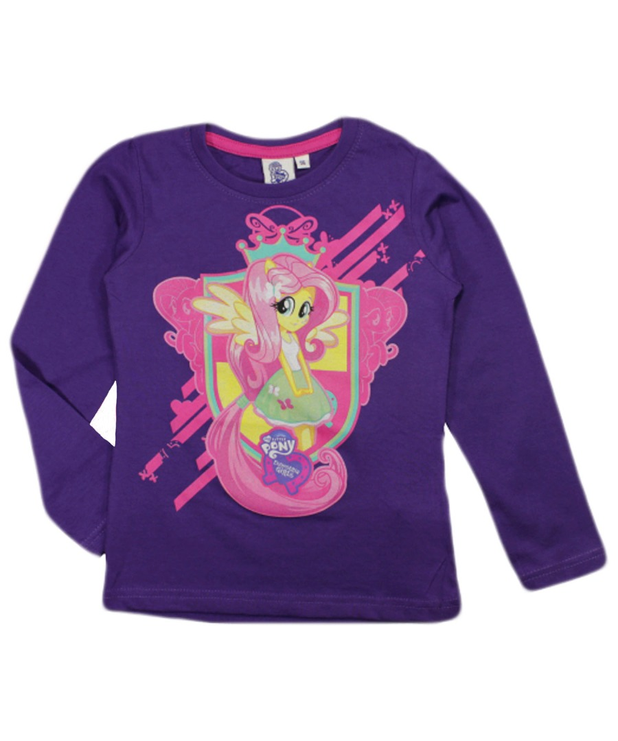 My little pony equestria girls kids long sleeve top t for Best shirts for girls