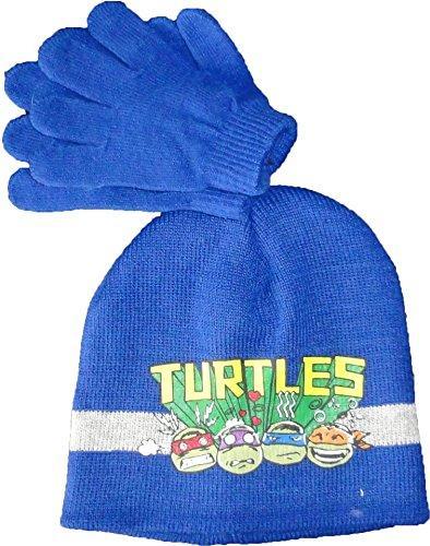 Ninja Turtles Winter Set Gloves and Hat