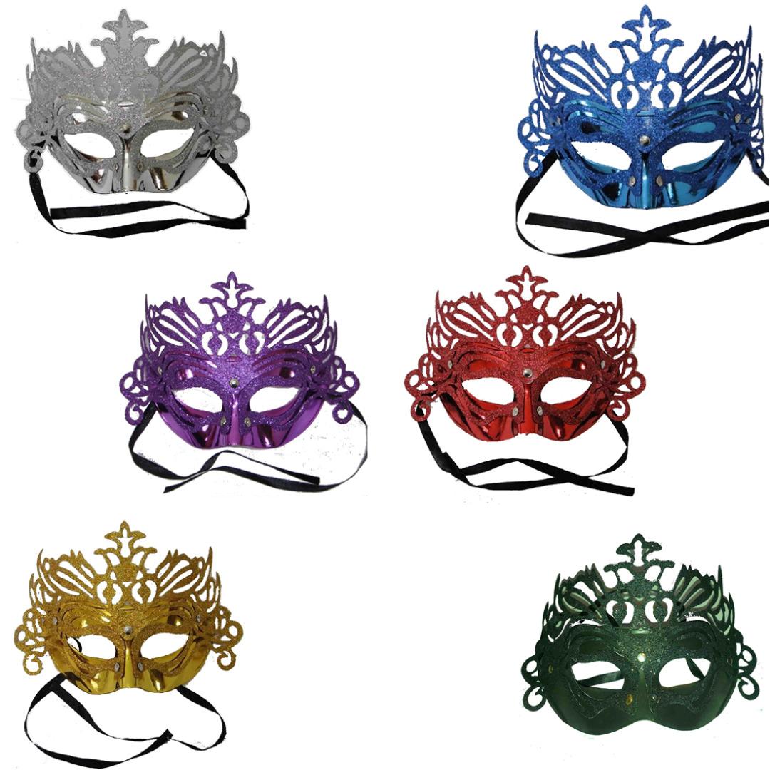 Masquerade Eye Mask Venetian Carnival Party Sparkling Glitter Masked Ball Masks