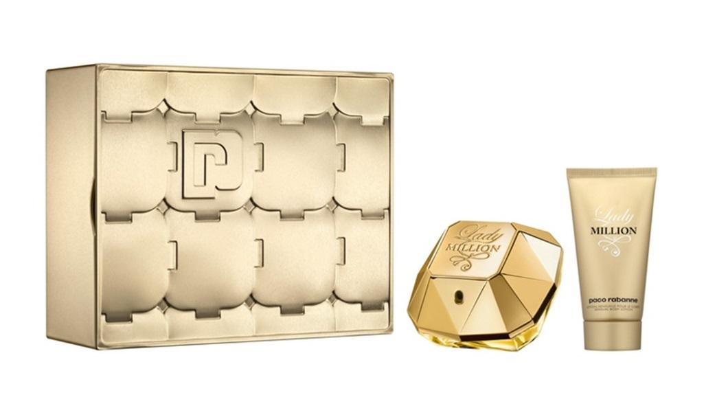 Paco Rabanne Lady Million Pour Femme Gift Set With 50ml Eau De