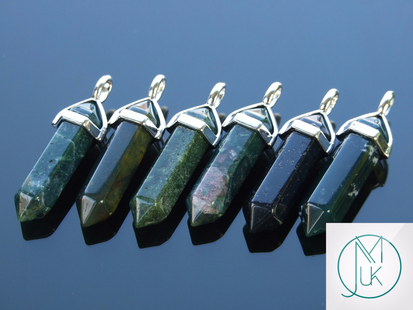 Gemstone-Pendant-for-Necklace-Manmade-or-Natural-Quartz-Crystal-Healing-Stone thumbnail 57