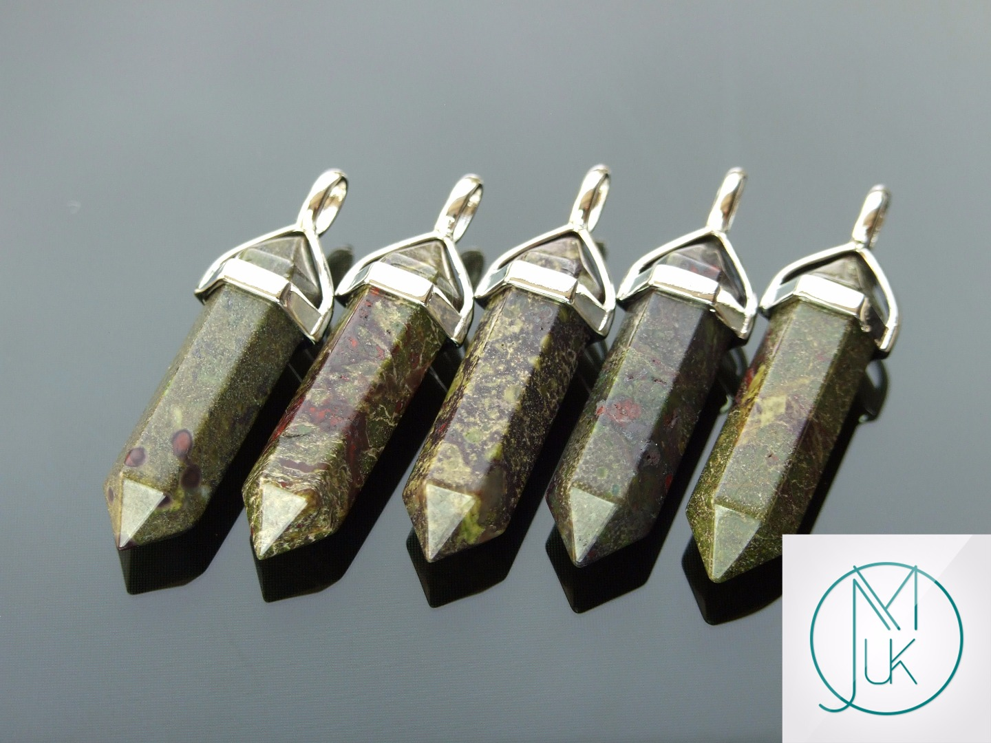 Gemstone-Pendant-for-Necklace-Manmade-or-Natural-Quartz-Crystal-Healing-Stone thumbnail 90