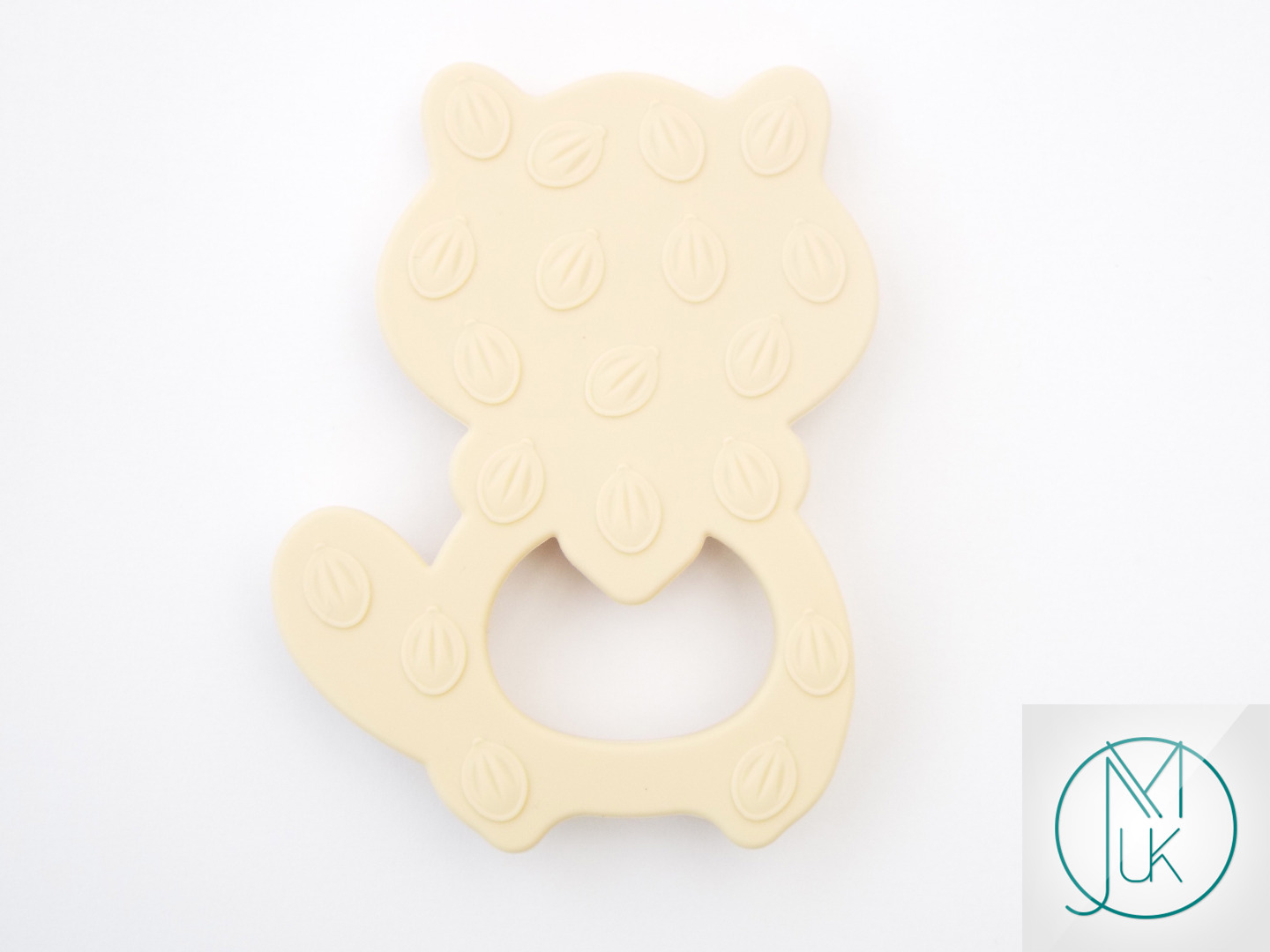 Silicone-Racoon-Teether-for-Teething-Jewellery-Making-7-Colors-to-Choose thumbnail 4