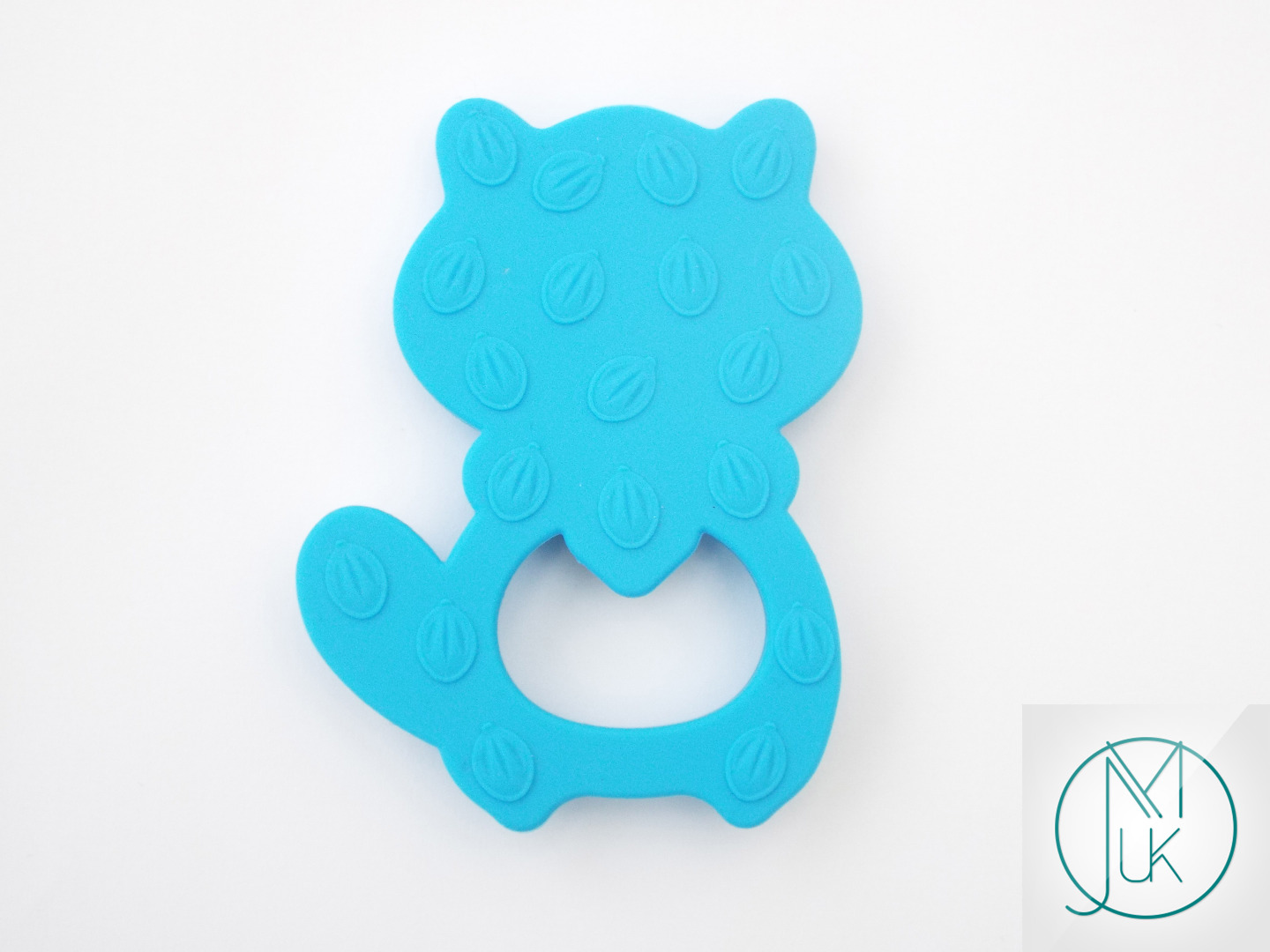 Silicone-Racoon-Teether-for-Teething-Jewellery-Making-7-Colors-to-Choose thumbnail 6