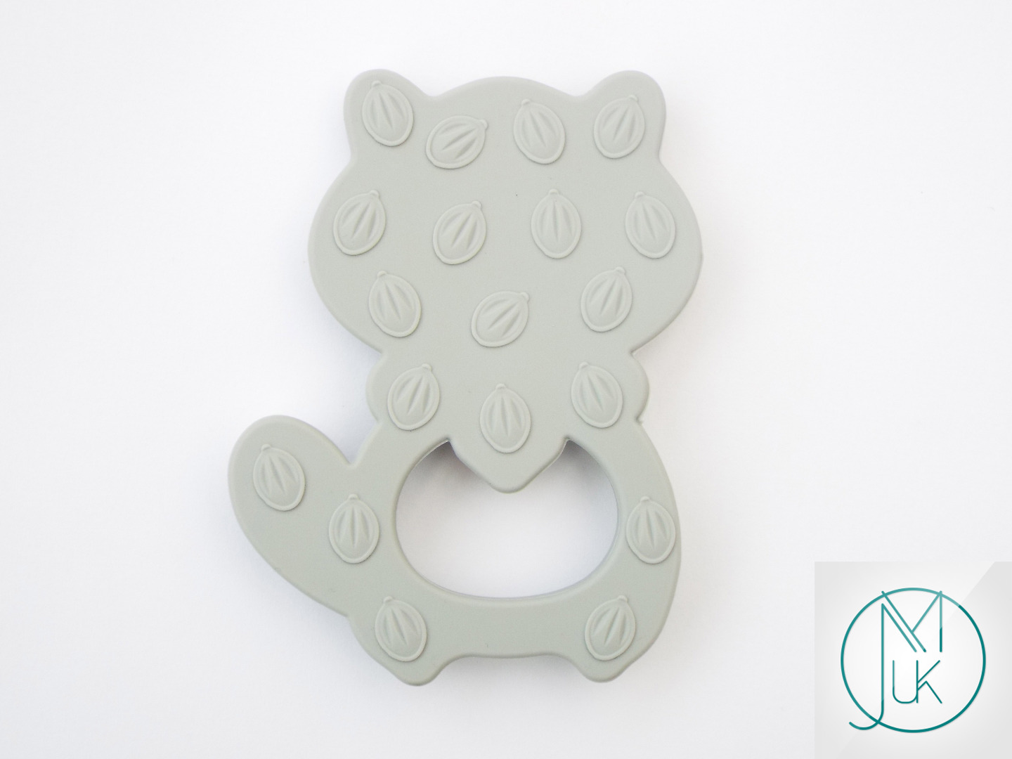 Silicone-Racoon-Teether-for-Teething-Jewellery-Making-7-Colors-to-Choose thumbnail 10