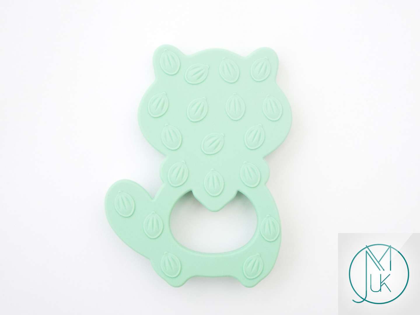 Silicone-Racoon-Teether-for-Teething-Jewellery-Making-7-Colors-to-Choose thumbnail 8