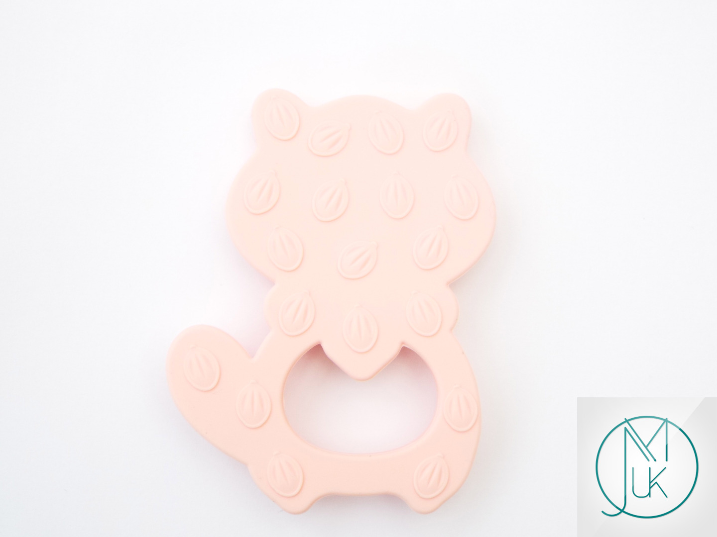 Silicone-Racoon-Teether-for-Teething-Jewellery-Making-7-Colors-to-Choose thumbnail 16