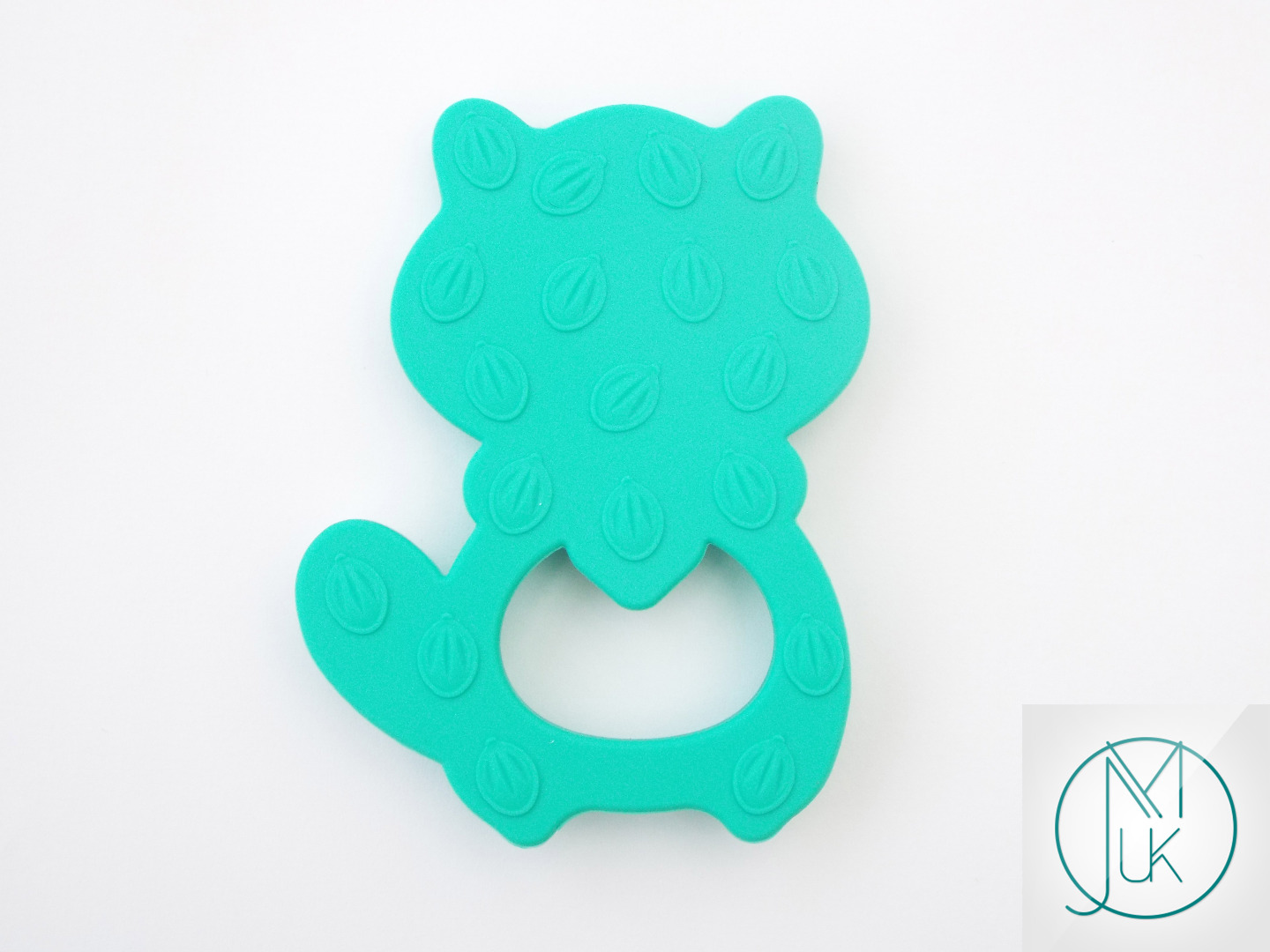 Silicone-Racoon-Teether-for-Teething-Jewellery-Making-7-Colors-to-Choose thumbnail 14