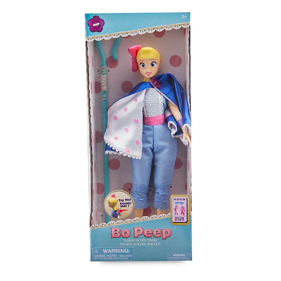 """Disney Collection Toy Story 4 BO PEEP Talking 14/"""" Doll Cape Converts Into Skirt"""