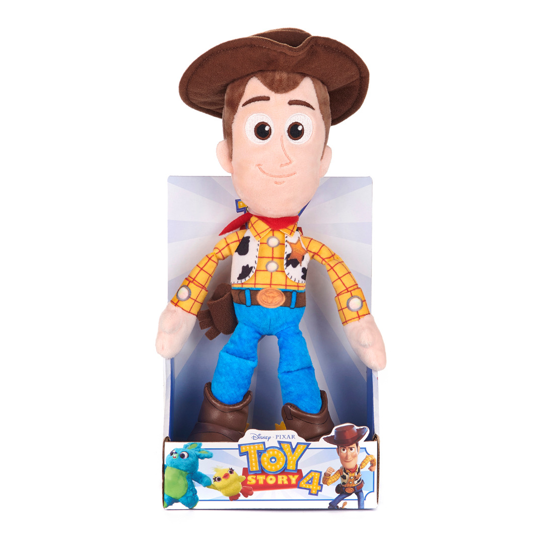 Posh Paws Pixar Toy Story 4 Woody Soft Doll in Gift Box