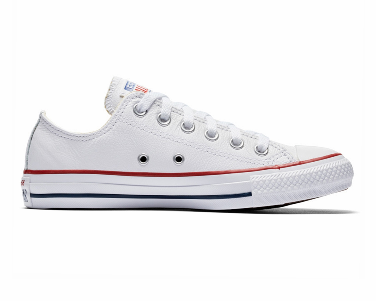 ab700a4506e Converse Chuck Taylor All Star OX 132173C Leather Men Trainers White ...
