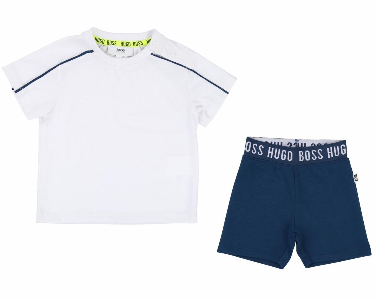 Hugo BOSS Pantaloncini Ragazzi NUOVO con etichetta