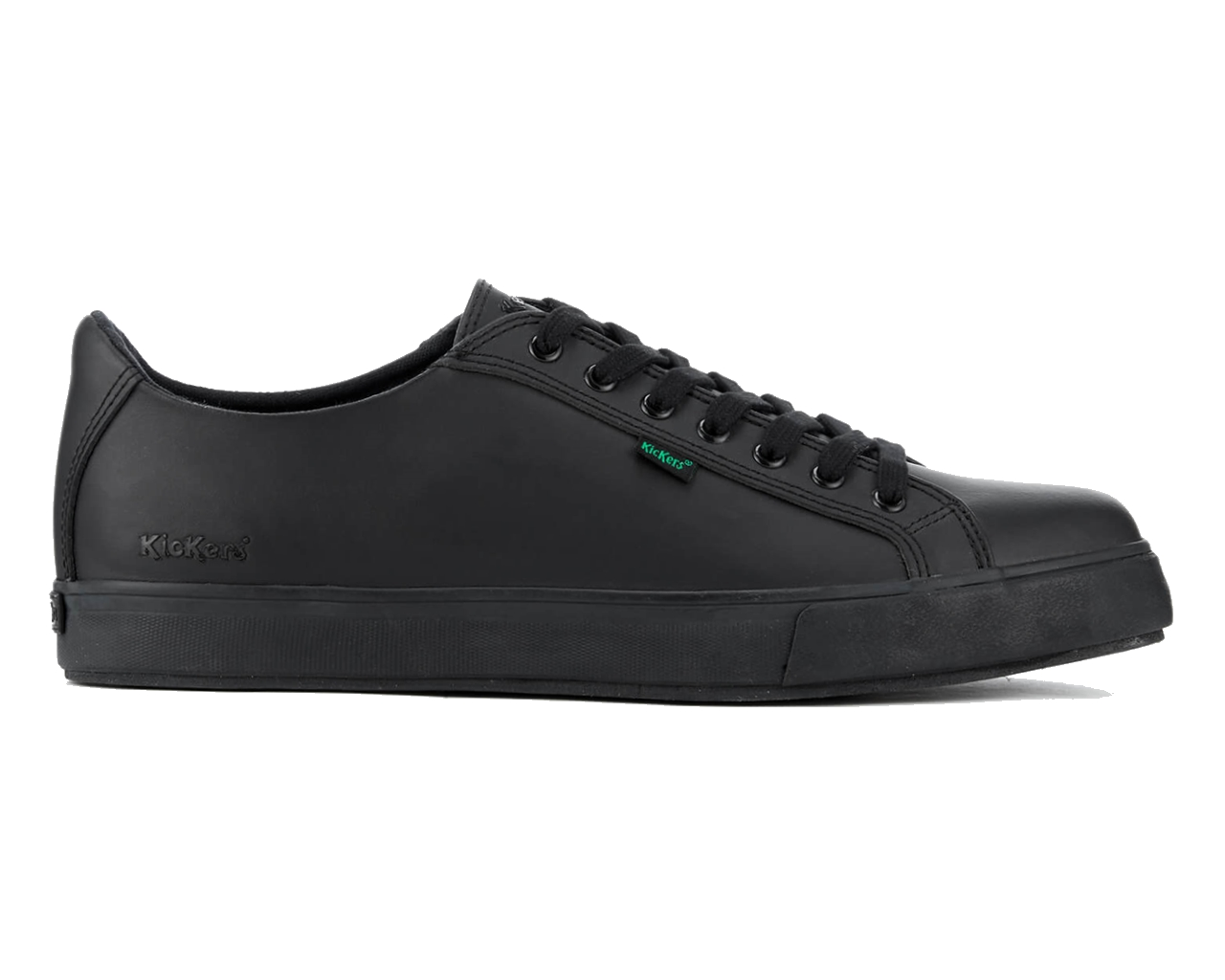 Kickers Reasan lace Leather AM 112799 Mens Shoes Black School Work Shoe