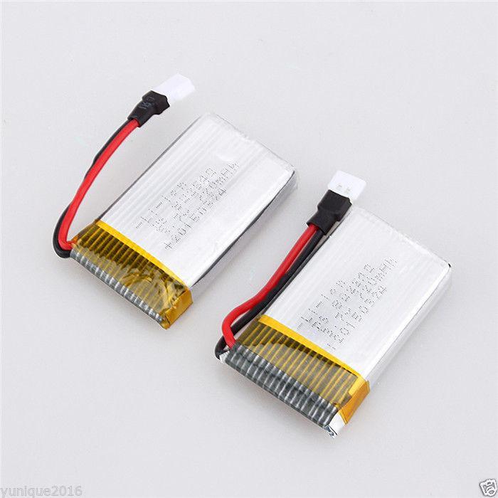 3-7V-650mAh-25C-Li-Po-Bateria-RC-Drone-Wltoys-F949-Skytech-M68R
