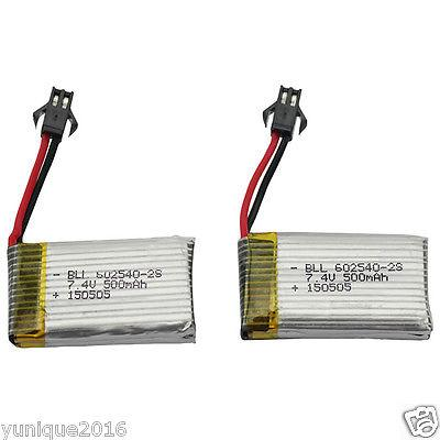 Batterie-per-Lipo-7-4V-650mah-per-Quadricoteri-DFD-F182-F183-RC-Drone