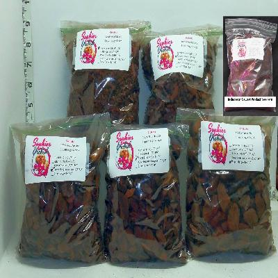 BIN Sample Packs of Orchiata Bark and Tree Fern Substrate in One Quart Bags