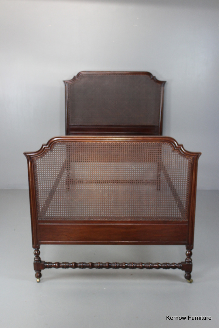 Single Early 20th Century Mahogany Single Bed Frame