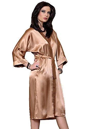 b7aeb2a004ebca Dkaren-Nachtwaesche-Morgenmantel-Kimono-aus-Satin-lang Indexbild 28
