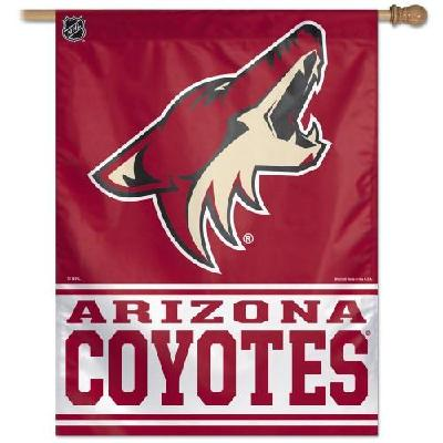 Arizona Coyotes Flag Vertical House Banner