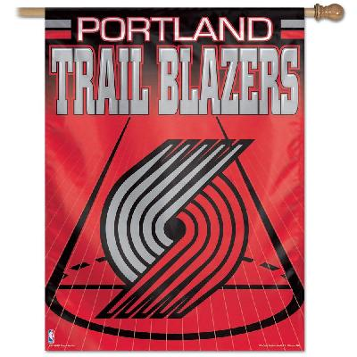 Portland Trail Blazers Flag Basketball House Banner