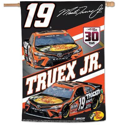 Martin Truex Jr Flag 2021 Bass Pro Shops Race Car