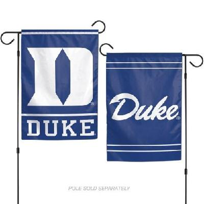 Duke University Garden Flag 2 Sided Blue Devils Logo