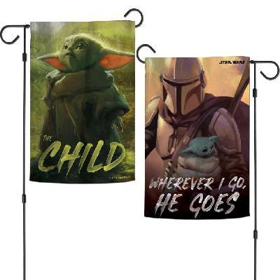 Mandalorian The Child Garden Flag
