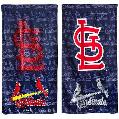 MLB St Louis Cardinals 2 Sided Glitter Garden Flag