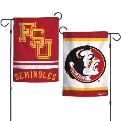 Florida State Garden Flag 2 Sided Seminoles Vintage Classic Logo