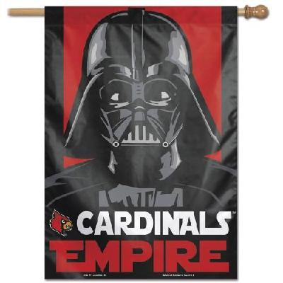 Louisville Cardinals Flag Star Wars Empire House Banner