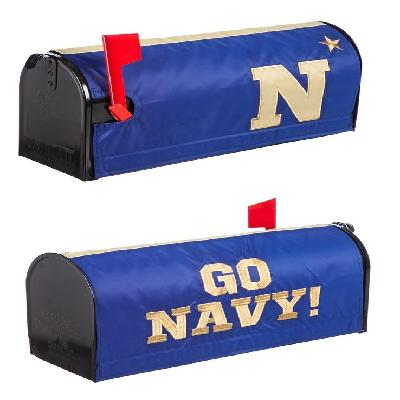 US Naval Academy Mailbox Cover Applique 2 Sided