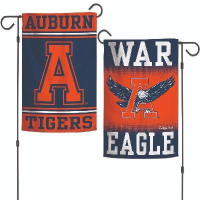 Auburn University 2 Sided Garden Flag War Eagle