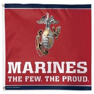 United States Marines Flag 3x5 The Few The Proud