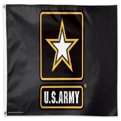 US Army Flag 3x5 Black Star