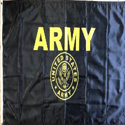 US Army Gold 3x5 Flag 2 Sided
