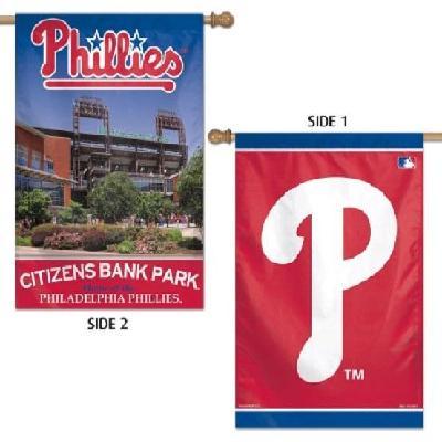 Philadelphia Phillies Flag 2 Sided House Banner Citizens Bank Park