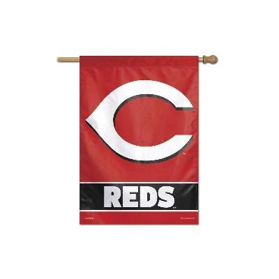 Cincinnati Reds Vertical House Banner Flag MLB